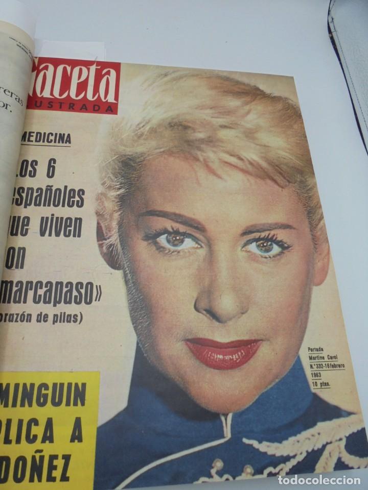 Coleccionismo de Revista Gaceta Ilustrada: GACETA ILUSTRADA. 10 REVISTAS ENCUADERNADAS. DESDE FEBRERO HASTA ABRIL. Nº 330 HASTA EL Nº 339. VER - Foto 6 - 276992063