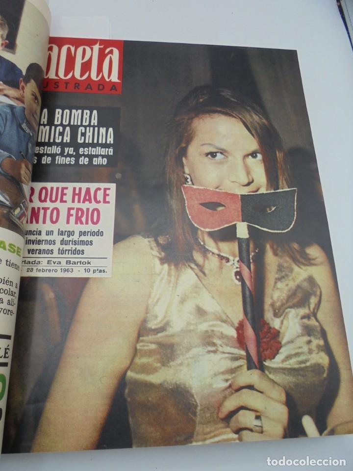 Coleccionismo de Revista Gaceta Ilustrada: GACETA ILUSTRADA. 10 REVISTAS ENCUADERNADAS. DESDE FEBRERO HASTA ABRIL. Nº 330 HASTA EL Nº 339. VER - Foto 8 - 276992063