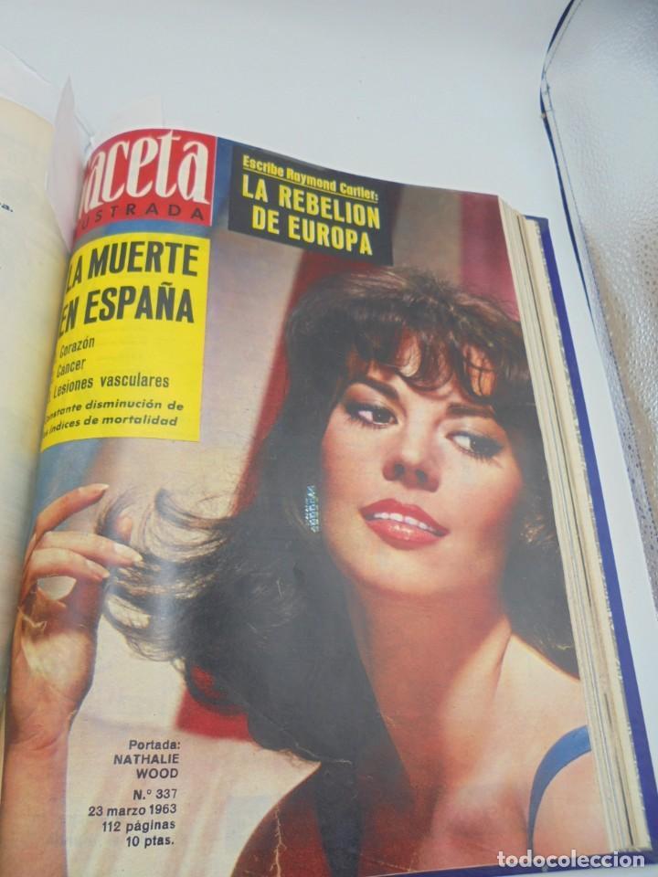 Coleccionismo de Revista Gaceta Ilustrada: GACETA ILUSTRADA. 10 REVISTAS ENCUADERNADAS. DESDE FEBRERO HASTA ABRIL. Nº 330 HASTA EL Nº 339. VER - Foto 16 - 276992063