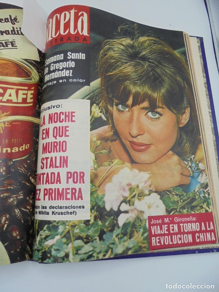 Coleccionismo de Revista Gaceta Ilustrada: GACETA ILUSTRADA. 10 REVISTAS ENCUADERNADAS. DESDE FEBRERO HASTA ABRIL. Nº 330 HASTA EL Nº 339. VER - Foto 20 - 276992063
