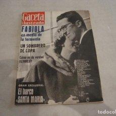 Coleccionismo de Revista Gaceta Ilustrada: REVISTA GACETA ILUSTRADA Nº 226 1961. Lote 277676548