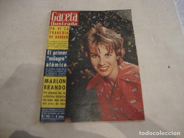 REVISTA GACETA ILUSTRADA Nº 45 1956 (Coleccionismo - Revistas y Periódicos Modernos (a partir de 1.940) - Revista Gaceta Ilustrada)