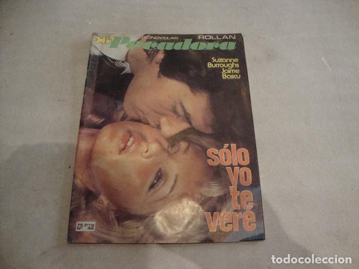 REVISTA FOTONOVELA ROLLAN PECADORA Nº 42 (Coleccionismo - Revistas y Periódicos Modernos (a partir de 1.940) - Revista Gaceta Ilustrada)