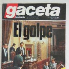 Coleccionismo de Revista Gaceta Ilustrada: GACETA ILUSTRADA. NÚM 1274, 8 MARZO DE 1981. EL GOLPE DE ESTADO, 23 F. Lote 279574428