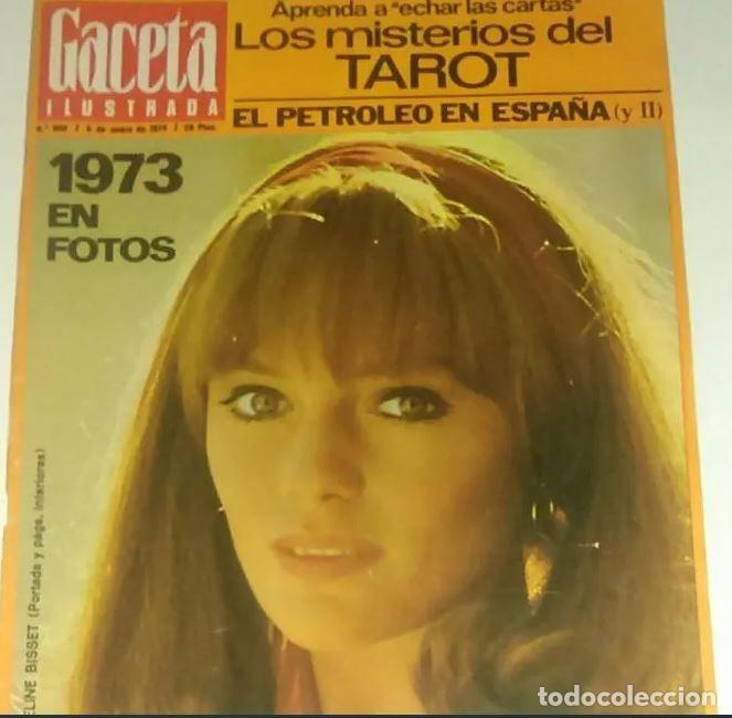 REVISTA GACETA ILUSTRADA Nº 900 (6 ENERO 1974) JACQUELINE BISSET (Coleccionismo - Revistas y Periódicos Modernos (a partir de 1.940) - Revista Gaceta Ilustrada)