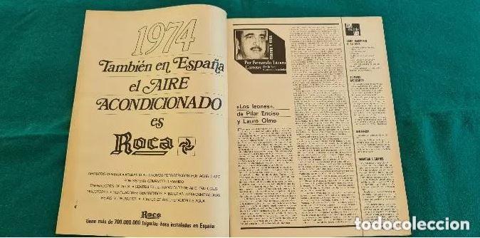 Coleccionismo de Revista Gaceta Ilustrada: REVISTA GACETA ILUSTRADA Nº 900 (6 ENERO 1974) JACQUELINE BISSET - Foto 2 - 287080468