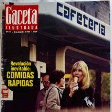 Coleccionismo de Revista Gaceta Ilustrada: GACETA ILUSTRADA.Nº 844.DICIEMBRE 1972.SOLANA.MONTSERRAT CABALLE.PELE-FITIPALDI.B.B. KING.REVISTA. Lote 288502373