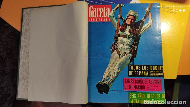 Coleccionismo de Revista Gaceta Ilustrada: LA GACETA ILUSTRADA - 1967 (ENE-MAR) - FASCICULOS ENCUADERNADOS DEL 535 AL 546 (FALTA EL 545). - Foto 3 - 288560208