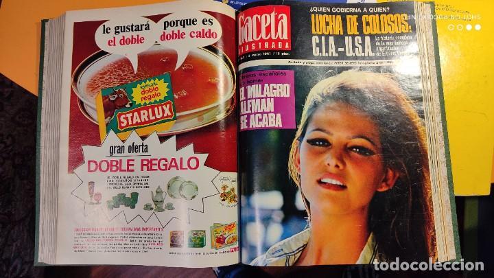 Coleccionismo de Revista Gaceta Ilustrada: LA GACETA ILUSTRADA - 1967 (ENE-MAR) - FASCICULOS ENCUADERNADOS DEL 535 AL 546 (FALTA EL 545). - Foto 4 - 288560208
