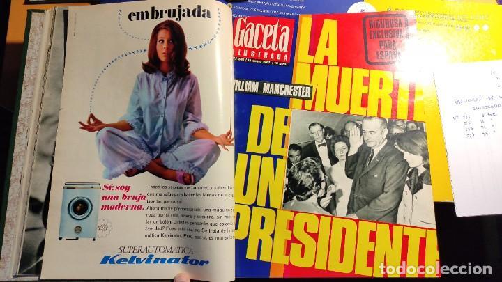Coleccionismo de Revista Gaceta Ilustrada: LA GACETA ILUSTRADA - 1967 (ENE-MAR) - FASCICULOS ENCUADERNADOS DEL 535 AL 546 (FALTA EL 545). - Foto 5 - 288560208