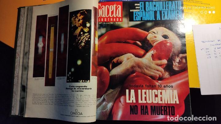Coleccionismo de Revista Gaceta Ilustrada: LA GACETA ILUSTRADA - 1967 (ENE-MAR) - FASCICULOS ENCUADERNADOS DEL 535 AL 546 (FALTA EL 545). - Foto 6 - 288560208