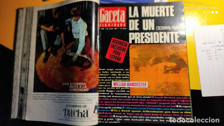 Coleccionismo de Revista Gaceta Ilustrada: LA GACETA ILUSTRADA - 1967 (ENE-MAR) - FASCICULOS ENCUADERNADOS DEL 535 AL 546 (FALTA EL 545). - Foto 7 - 288560208