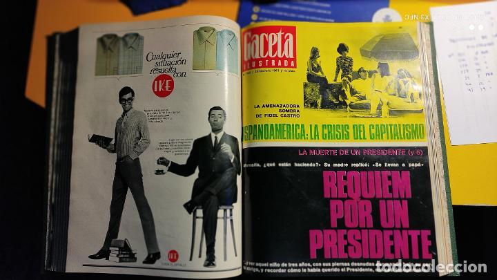 Coleccionismo de Revista Gaceta Ilustrada: LA GACETA ILUSTRADA - 1967 (ENE-MAR) - FASCICULOS ENCUADERNADOS DEL 535 AL 546 (FALTA EL 545). - Foto 8 - 288560208