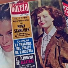 Coleccionismo de Revista Gaceta Ilustrada: GACETA ILUSTRADA. 3 NÚMEROS DE LOS AÑOS 60.. Lote 291574538
