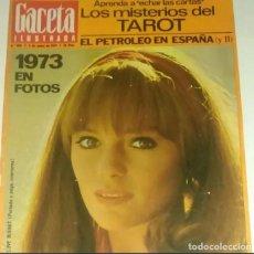 Coleccionismo de Revista Gaceta Ilustrada: REVISTA GACETA ILUSTRADA Nº 900 (6 ENERO 1974) JACQUELINE BISSET. Lote 291910603