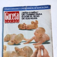 Coleccionismo de Revista Gaceta Ilustrada: GACETA ILUSTRADA Nº 709, 10 DE MAYO DE 1970. Lote 292044533