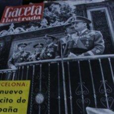 Coleccionismo de Revista Gaceta Ilustrada: GACETA ILUSTRADA N 188 FRANCISCO FRANCO KIM NOVAK PRINCESS MARGARET 1960. Lote 295366113