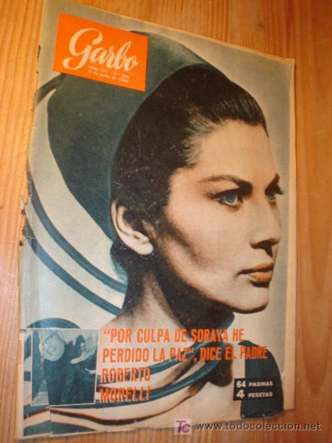 REVISTA GARBO Nº 568 6 JUN. 1964 SORALLA, (Coleccionismo - Revistas y Periódicos Modernos (a partir de 1.940) - Revista Garbo)