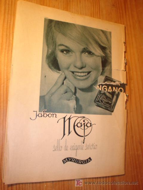 Coleccionismo de Revista Garbo: REVISTA GARBO Nº 568 6 JUN. 1964 SORALLA, - Foto 2 - 3558564