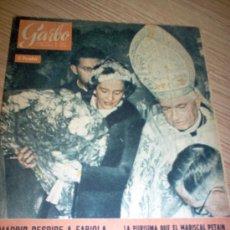 Coleccionismo de Revista Garbo: REVISTA GARBO AÑO 1960 Nº 404. Lote 27071639