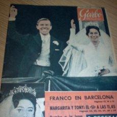 Coleccionismo de Revista Garbo: REVISTA GARBO AÑO 1960 Nº 374. Lote 27071633