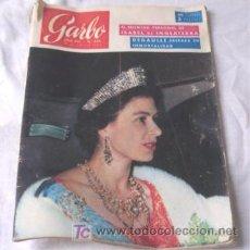 Coleccionismo de Revista Garbo: GARBO - Nº 624 - 1965 - PORTADA : ISABEL DE INGLATERRA. Lote 8089886