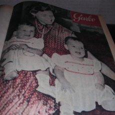 Coleccionismo de Revista Garbo: VOLUMEN REVISTA GARBO DEL AÑO I N-17 1953 AL AÑO I N-28 DEL 1953. Lote 6959881