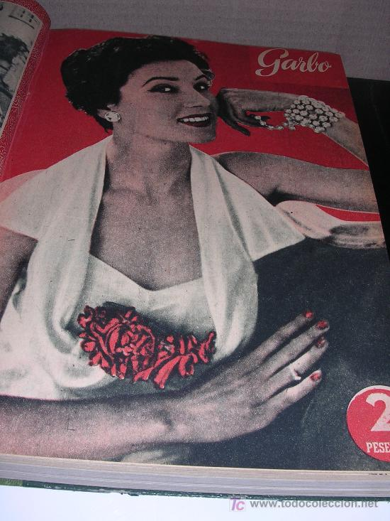 Coleccionismo de Revista Garbo: VOLUMEN REVISTA GARBO DEL AÑO I N-17 1953 AL AÑO I N-28 DEL 1953 - Foto 2 - 6959881