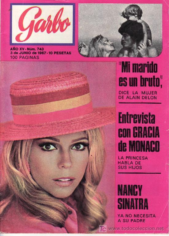 GARBO.3 DE JUNIO 1967 Nº 743. ENTREVISTA CON GRACIA DE MONACO.CON SUPLEMENTO DE DECORACION Nº 5. (Coleccionismo - Revistas y Periódicos Modernos (a partir de 1.940) - Revista Garbo)