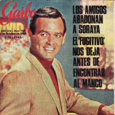 Coleccionismo de Revista Garbo: GARBO.OCTUBRE 1966 Nº 708. REPORTAJES:¿QUIEN MATÓ A KENNEDY?,LA FAMILIA SELLERS, ETC.. Lote 24676900