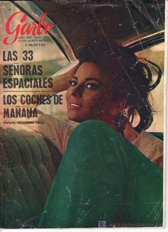 GARBO.JUNIO 1966 Nº 694. REVISTA LLENA DE ACTUALIDAD Y ANUNCOS DE LA EPOCA. (Coleccionismo - Revistas y Periódicos Modernos (a partir de 1.940) - Revista Garbo)