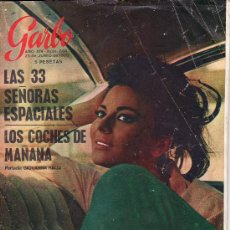 Coleccionismo de Revista Garbo: GARBO.JUNIO 1966 Nº 694. REVISTA LLENA DE ACTUALIDAD Y ANUNCOS DE LA EPOCA.. Lote 24354440
