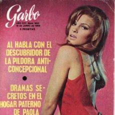 Coleccionismo de Revista Garbo: GARBO.JUNIO 1966 Nº 693-EN PORTADA RAQUEL WELCH- REVISTA LLENA DE ACTUALIDAD Y ANUNCOS DE LA EPOCA.. Lote 24536823
