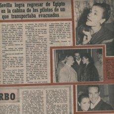 Coleccionismo de Revista Garbo: REVISTA 1956 SOPHIA LOREN CARMEN SEVILLA RICARDO MONTALBAN GRETA GARBO SALVADOR DALI Y EL QUIJOTE. Lote 21961552