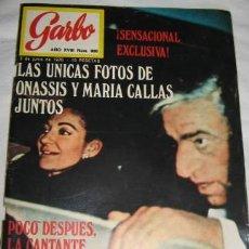 Coleccionismo de Revista Garbo: REVISTA GARBO CON REPORTAJE DE MARISOL. Lote 27526591