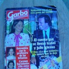 Coleccionismo de Revista Garbo: REVISTA GARBO Nº 1577 11-7- 83. Lote 9643767
