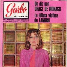 Coleccionismo de Revista Garbo: GARBO Nº 781 AÑO 1968-VEA MAS COLECCIONES EN GENERAL EN RASTRILLOPORTOBELLO. Lote 24676916