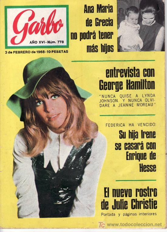 GARBO Nº 778 AÑO 1968-VEA MAS COLECCIONES EN GENERAL EN RASTRILLOPORTOBELLO (Coleccionismo - Revistas y Periódicos Modernos (a partir de 1.940) - Revista Garbo)