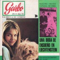 Coleccionismo de Revista Garbo: GARBO Nº 753 AÑO 1967-VEA MAS COLECCIONES EN GENERAL EN RASTRILLOPORTOBELLO. Lote 26525561