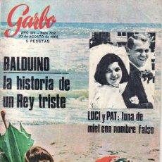 Coleccionismo de Revista Garbo: GARBO Nº 702 AÑO 1966-VEA MAS COLECCIONES EN GENERAL EN RASTRILLOPORTOBELLO. Lote 24321035