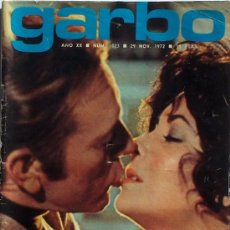 Coleccionismo de Revista Garbo: GARBO Nº 1023 1972, LYZ TAYLOR Y RICHARD BURTON, POSTER DE ALEX SOLER RPOIG CON UN BRM, MOTOR TOKIO. Lote 16698087