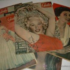 Coleccionismo de Revista Garbo: LOTE DE OCHO REVISTAS GARBO AÑOS 1953 - 54 - 56. Lote 26657055