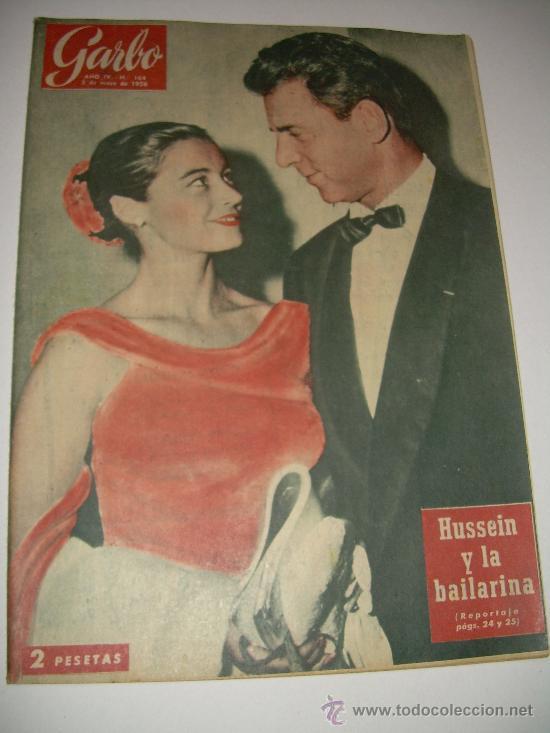 Coleccionismo de Revista Garbo: LOTE DE OCHO REVISTAS GARBO AÑOS 1953 - 54 - 56 - Foto 2 - 26657055