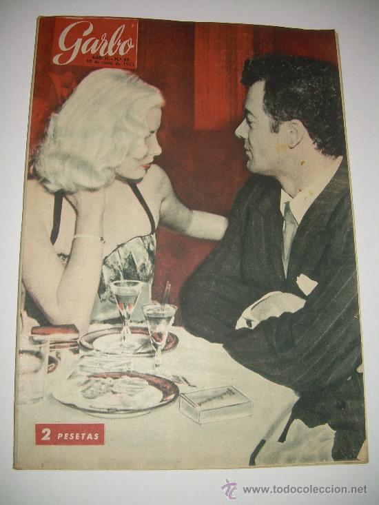 Coleccionismo de Revista Garbo: LOTE DE OCHO REVISTAS GARBO AÑOS 1953 - 54 - 56 - Foto 3 - 26657055