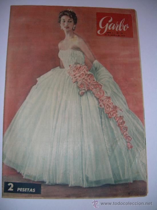 Coleccionismo de Revista Garbo: LOTE DE OCHO REVISTAS GARBO AÑOS 1953 - 54 - 56 - Foto 4 - 26657055