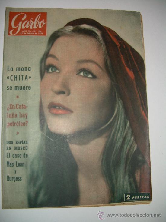 Coleccionismo de Revista Garbo: LOTE DE OCHO REVISTAS GARBO AÑOS 1953 - 54 - 56 - Foto 6 - 26657055