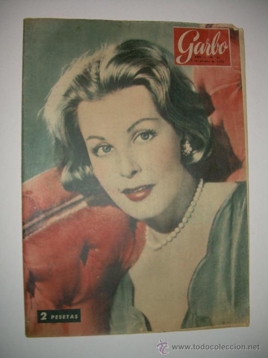 Coleccionismo de Revista Garbo: LOTE DE OCHO REVISTAS GARBO AÑOS 1953 - 54 - 56 - Foto 7 - 26657055