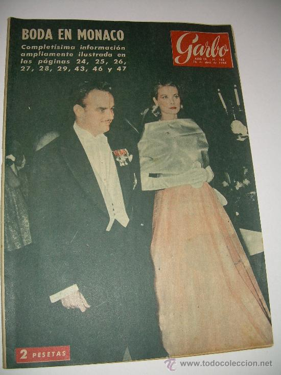 Coleccionismo de Revista Garbo: LOTE DE OCHO REVISTAS GARBO AÑOS 1953 - 54 - 56 - Foto 8 - 26657055