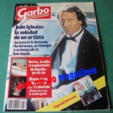 Coleccionismo de Revista Garbo: GARBO 1679/1985 JULIO IGLESIAS~LOLITA FLORES~LLUIS LLACH~INFANTA CRISTINA~G, PECK~BARBRA STREISAND. Lote 27271504