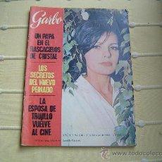 Coleccionismo de Revista Garbo: REVISTA GARBO AÑO 1965.. Lote 20321342